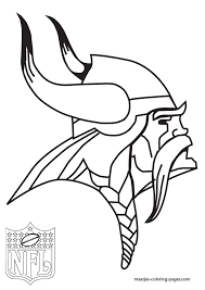 Small Picture Minnesota Vikings Coloring Coloring Pages