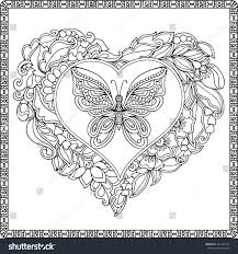 Butterfly Coloring Book Colouring Pages To Print Free Printable Pdf