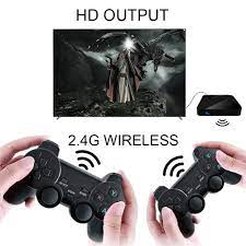 Powkiddy 30000/40000+ Games WiFi Retro TV Box G5 S905L Mini Game Box  Console Emulator Video Game Player with Wired/Wirel