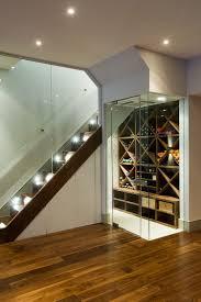 eyecatching under stairs wine storage ideas