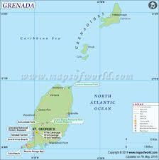 Grenada Climate Chart Grenada Map Map Of Grenada