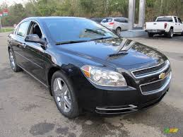 Black Granite Metallic 2012 Chevrolet Malibu LT Exterior Photo ...