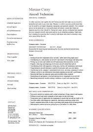 Maintenance Technician Resume Sample Auto Ac Technician Resume Sample Maintenance Breathelight Co