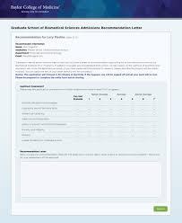 baylor letter of recommendation graduate school application website on behance