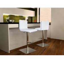 modern swivel bar stools. Bar Stools:Georgio White Swivel Stool Cushion With Height Adjuster Modern Stools R