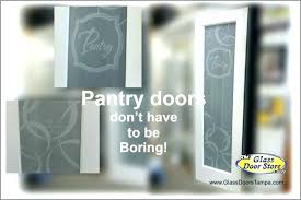 glass pantry door etched frosted doors etched glass pantry door
