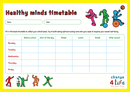 PHE School Zone - Our Healthy Year: Year 6 classroom activity sheets