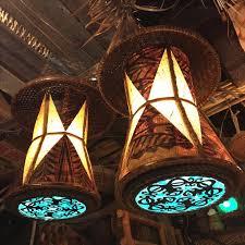 tiki lighting. Tiki Art, Tiki, Room, Lamp Design, Bar Lighting, South Pacific, Tacos, Art Decor, Caribbean Lighting