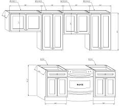 Kitchen Cabinet Dimensions Chart Kitchen Cabinet Sizes Confedem Org