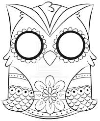 Printable Coloring Pages For Adults Owls