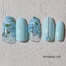 夏ハンドネイルチップ Komakusanailのネイルデザインno4271489