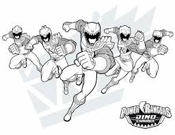 Power Rangers Printables 20 Free Printable Power Ranger Dino Charge