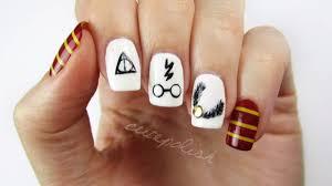 Harry Potter Nail Designs Nail Art Harry Potter Facile