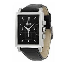 hugo boss watch 1512385 black leather rectangular black dial hugo boss watch 1512849 black leather rectangular dial chronograph men watch