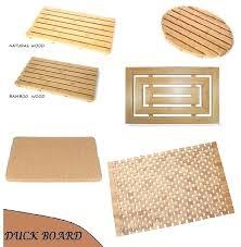 bathroom wooden mats natural bamboo wood duck board wooden bath shower cork mat large duckboards in bathroom wooden mats