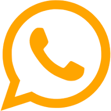 Orange whatsapp icon - Free orange site logo icons