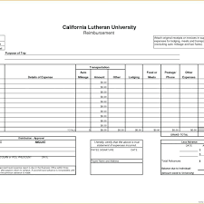 Medical Mileage Reimbursement Form Template In Gas Expense Report ...