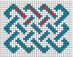 Cool Designs To Draw On Graph Paper How To Draw A Celtic Knot On