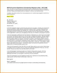 Sample Scholarship Request Letters Letter Format Scholarship Request Best Sample Scholarship Request