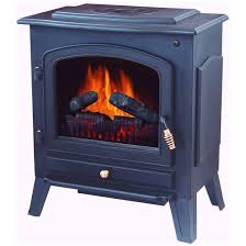 stonegate electric fireplace heater with remote black double tap to zoom