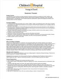 Respiratory Therapist Resume Templates Student Respiratory Therapist Resume Samples Resume Resume 4