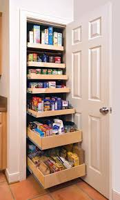 Kitchen Pantry Closet Organization Stand Alone Kitchen Pantry Standalone Solution Image Of Small