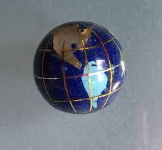 gemstone globe bead