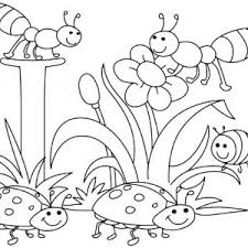 Small Picture Coloring Pages Of Spring Flowers For Kids Printable Coloing Spring