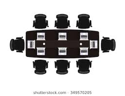 desk chair top view. Perfect Top Flat Design Office Business In Top View Vector Illustration Inside Desk Chair Top View K