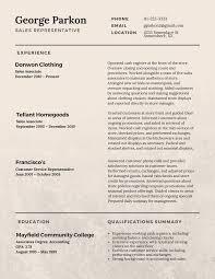 great resume layout resumes  s representative best cv tips