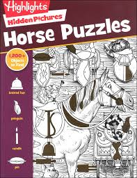 This is part of a series called bible puzzle with a variety of different puzzles. Hidden Pictures Horse Puzzles Highlights For Children 9781629798417