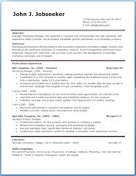 Free Professional Resume Template Best Resume Templates For Beginners Simple And Free Resume Template