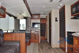 Travel trailers interior Surveyor Heartland Wilderness Travel Trailer Living Area Blue Dog Rv Heartland Wilderness Travel Trailer Bring The Outside Inside With