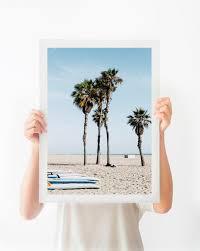 california wall art printable beach