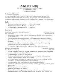 Best Mary Kay Independent Beauty Consultant Resumes Resumehelp