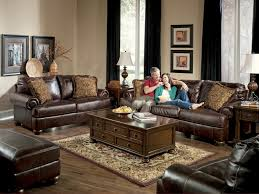 Luxury Chocolate Leather sofa Decorating Ideas