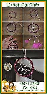 Making Dream Catchers With Pipe Cleaners New Native American Crafts For Kids No More Nightmares With These