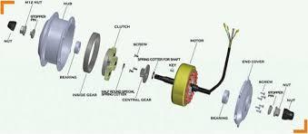 simple electric motor design. Modren Simple Hub Motor 3D Technical Drawing With Simple Electric Motor Design