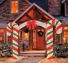 Outdoor Christmas Decorations Candy Canes Large Outdoor Christmas Decorations ‹ Decor Love 24
