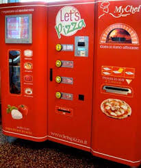 Vending Machine Italy Beauteous PIZZA VENDING MACHINE Italy Made To Order Pizza Shopaholic