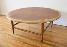 lane acclaim round coffee table 3 picked vintage for mid century modern round coffee table
