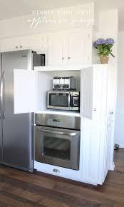 Appliance Garages Kitchen Cabinets 17 Best Ideas About Appliance Garage On Pinterest Appliance