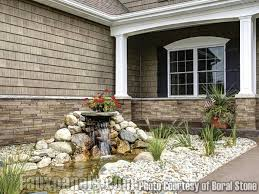 Easy Exterior House Design Versetta By Boral Stone Products