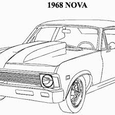 Coloring Pages Muscle Car Coloring Pages New Kids For Drag