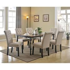 morgana tufted parsons dining chair set of hayneedle masteracm large size