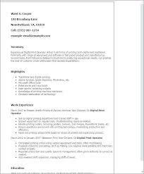 Print Resume Template Joeperullo Com