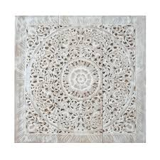 carved wooden wall art panels