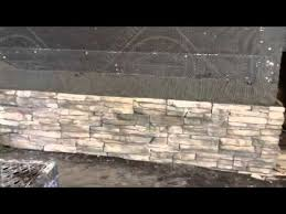 Stacked Stone Veneer Fireplace Cost Pictures Image Surround Stacked Stone Veneer Fireplace