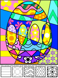 Small Picture Easter Activities Interactive Coloring Sheets Easter pictures