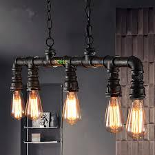 vintage pendant lighting fixtures. Loft Industrial Pendant Light Hanging Lamp Water Pipe Lamparas De Vintage Lighting Fixtures R